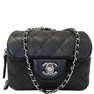 CHANEL Classic Mini Flap Quilted Crossbody Bag